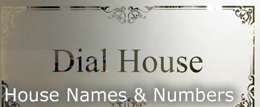 House Names & Numbers