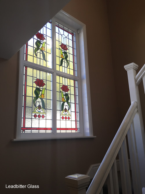 1930s Leaded Glass Door Amp Landing Window Kettering