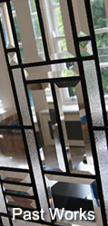 Bevelled Glass Past Works