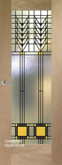 frank lloyd wright pattern 10 door