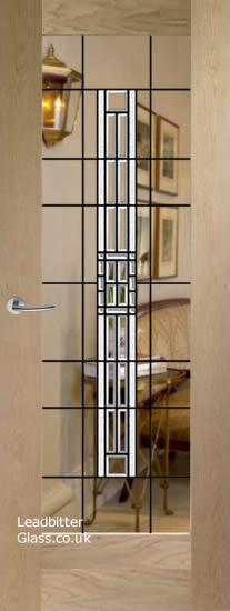 bevelled glass pattern 10 door