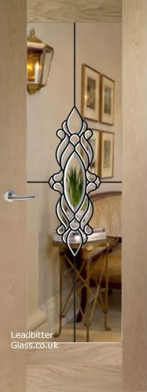 pattern 10 door bevelled glass