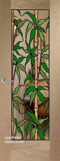 pattern 10 bamaboo door
