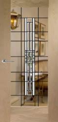 Full Height Bevelled Glass Doors