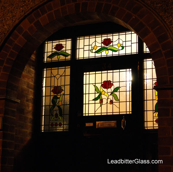 1930s Leaded Glass Door Amp Landing Window Kettering