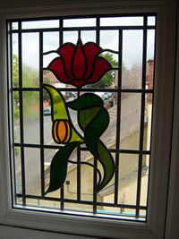 decorative glass for loft conversion