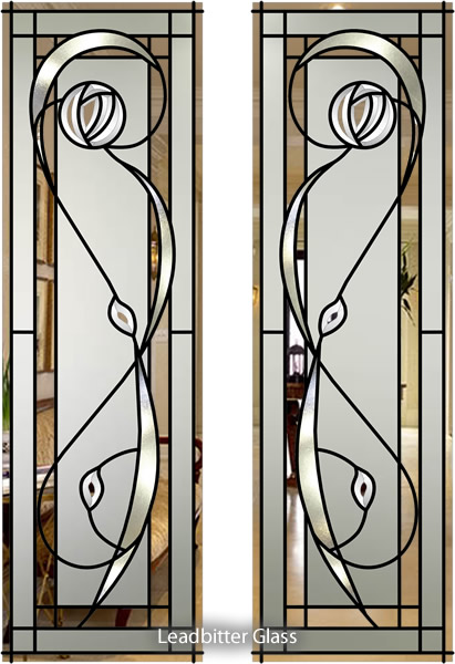 Bevelled Glass Rennie Mackintosh Designs