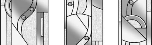 Abstract Design to match Composite Door