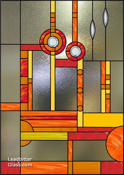 Mcmullen Abstract Mackintosh Landing Window Design