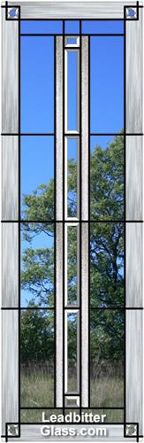 American Bevelled Glass Door