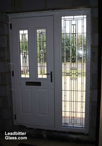 American Bevelled Glass Composite Door Northamptonshire