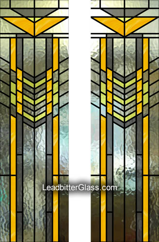 art_deco_frank_lloyd_wright_stained_glass