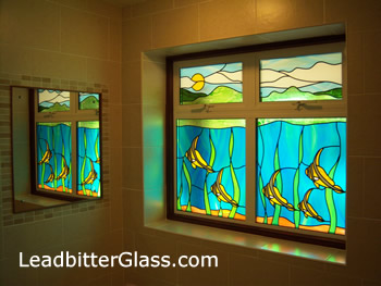 bathroom_window_stained_glass_fish