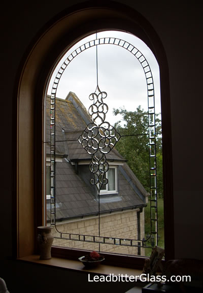 Bevelled Glass Feature Window