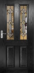 Split Glazed Bevelled Doors