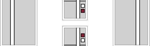 Mackintosh Style Door