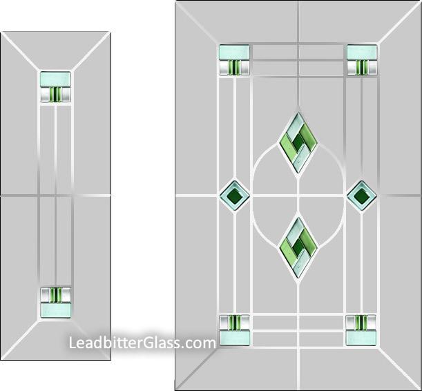 Porch Door & Side Panels