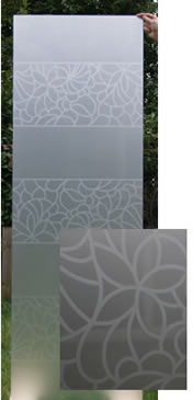 Etched Satin Glass