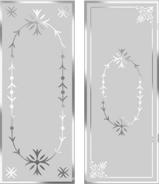 Victorian etched glass door london for Window glass design