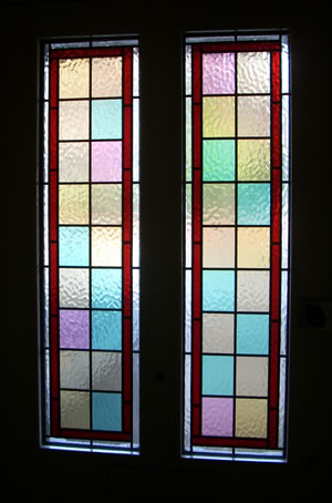 georgian leaded glass