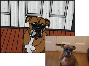 Leadbitter Glass Pet Designs