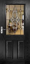 Half Glazed Bevelled Doors