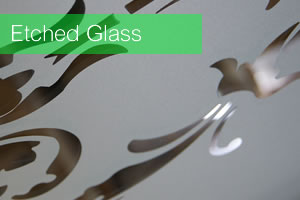 Leadbitter Glass Etched Glass