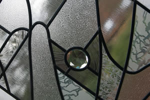 Obscure glass feature window