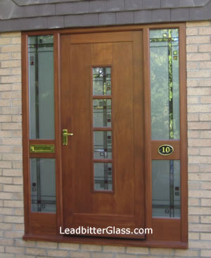 mackintosh_stained_glass_door. The finished door & Mackintosh Door u0026 Side Panels - York -
