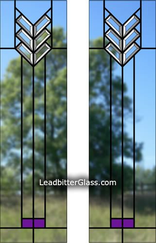 Mackintosh Split Glazed Door Glass Uk