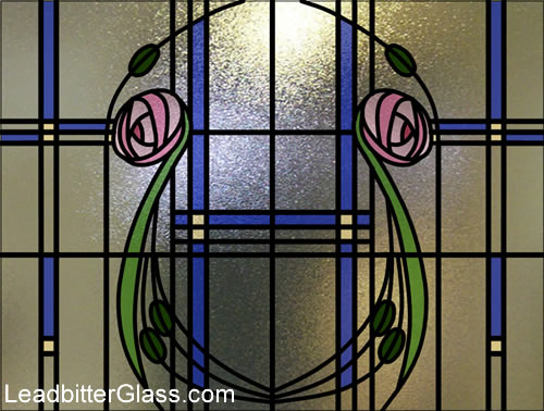 Stained Glass Bathroom Window Somerset
