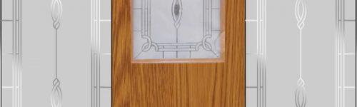 Sandblasted Glass Doors & Sides