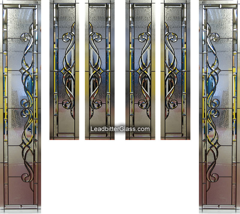 Traditional Bevelled Glass Door