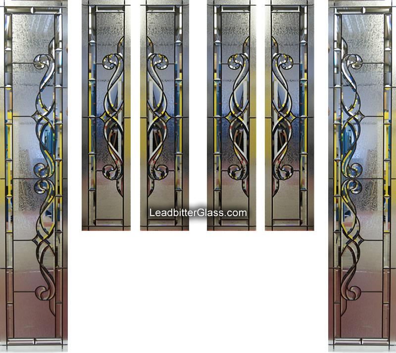 Traditional Bevelled Glass Door