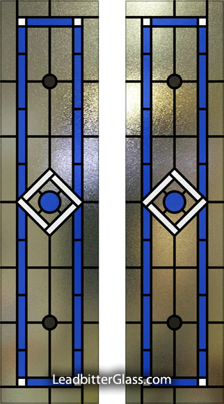 Stained Glass Door Design Guildford Surrey