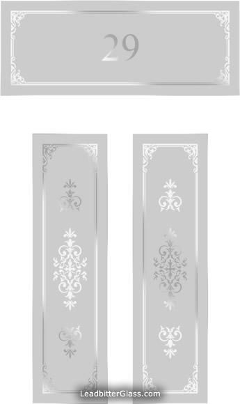 Victorian Etched Glass Door Amp Toplight Surrey