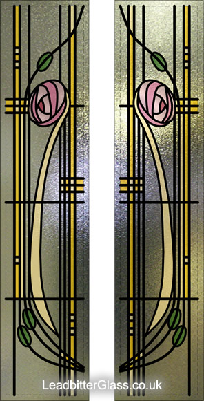 rennie mackintosh stained glass