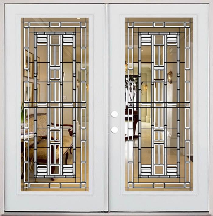 Hooper American Bevelled Glass Door Entryway Milton Keynes