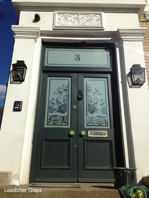 Victorian Style Etched Glass Arch Amp Door London Se16
