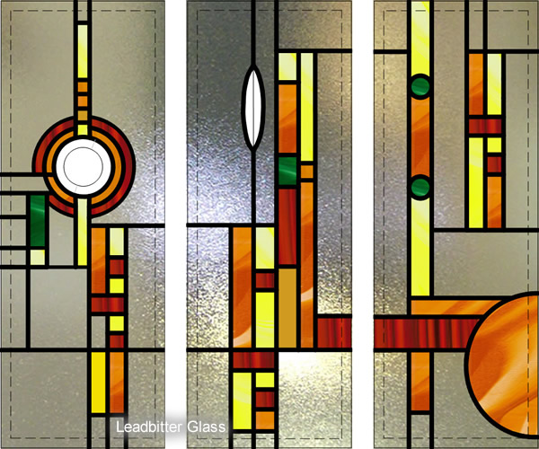 Mcewan Rennie Mackintosh Overlay Stained Glass Hastings