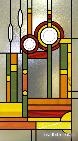 Brazier Bevelled Glass Mackintosh Window Kidderminster