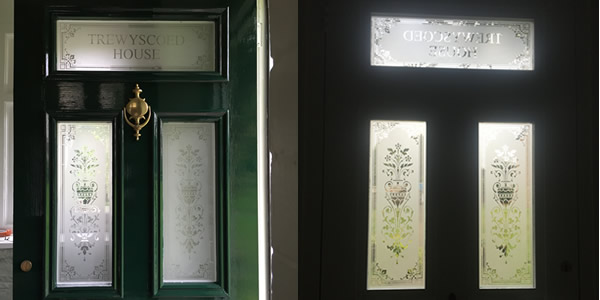 Victorian etched glass door panels these images above show the door before the wooden panels were removed for the glass the images below are the after photos planetlyrics Image collections