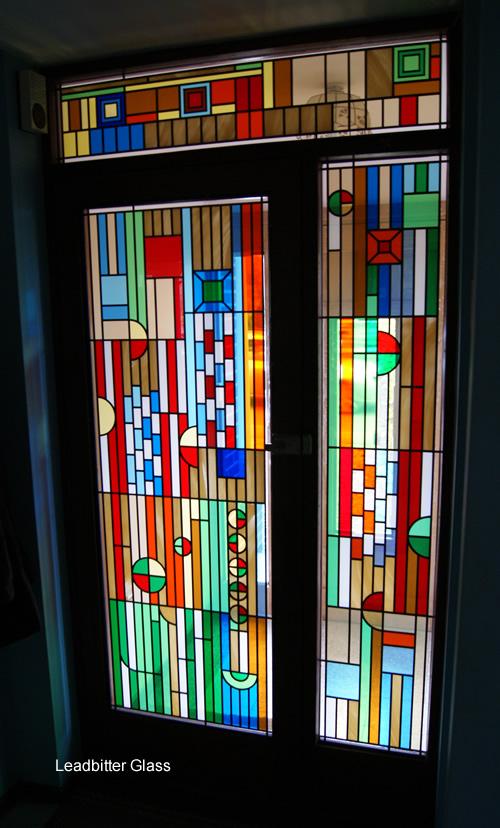 Frank Lloyd Wright Biltmore Hotel Glass