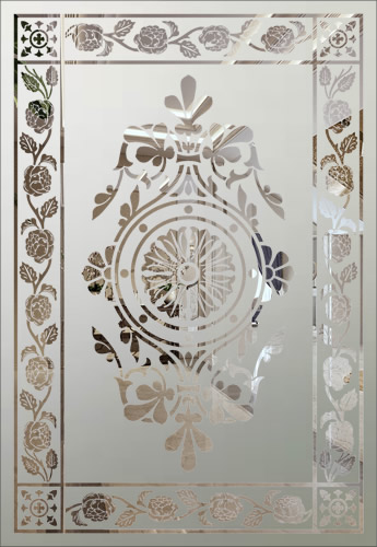 victorian etched glass panels page 1