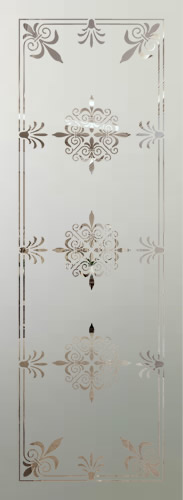 Victorian Etched Glass Panels Page 2