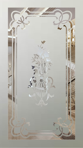 Victorian Etched Glass Panels Page 3