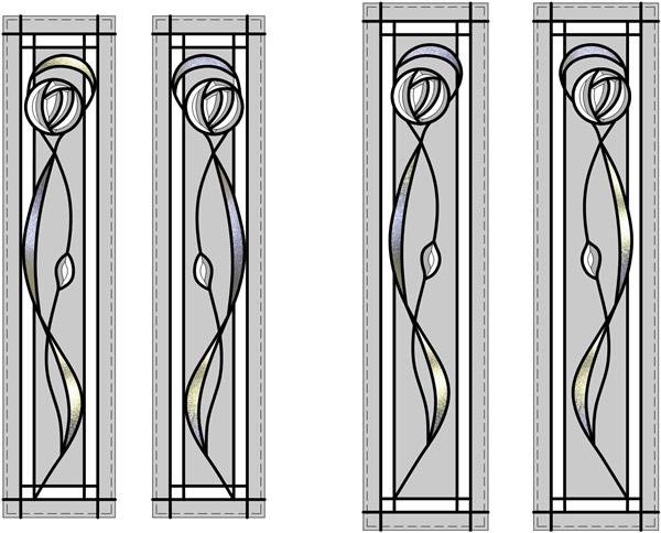 Quote ref 2720  sc 1 st  Leadbitter Glass & Pilkington - Mackintosh Bevelled Glass Doors - Wigan -