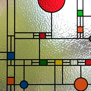 Minster Frank Lloyd Wright Glass