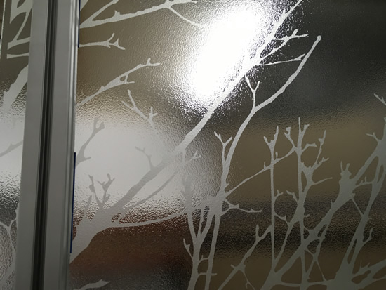 Stippolyte Etched Glass