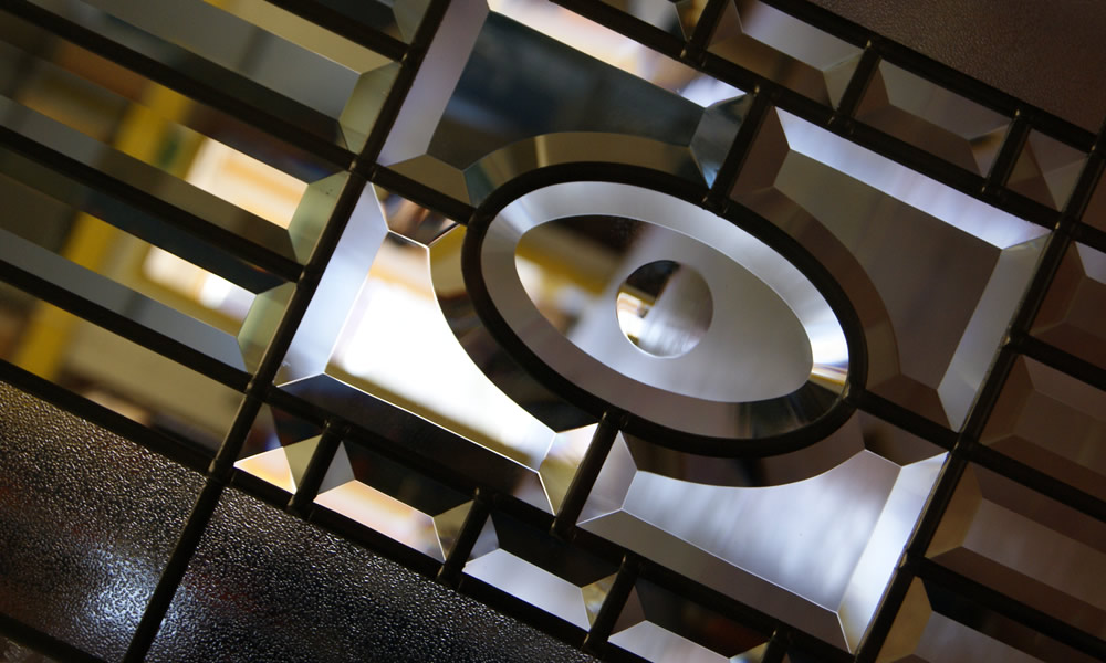 Bevelled Glass Shapes